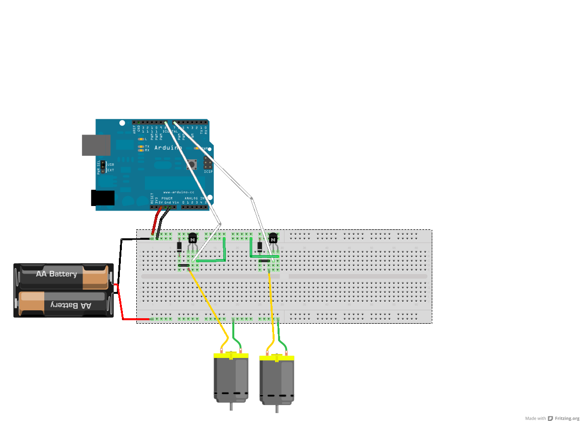 PWM DC MOTOR SPEED DIRECTION CONTROLLER